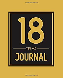 18 Year Old Journal: Happy Birthday Blank Lined Journal Book, Birthday Gift For 18 Year Old Boys & Girls (18th Birthday Gift)