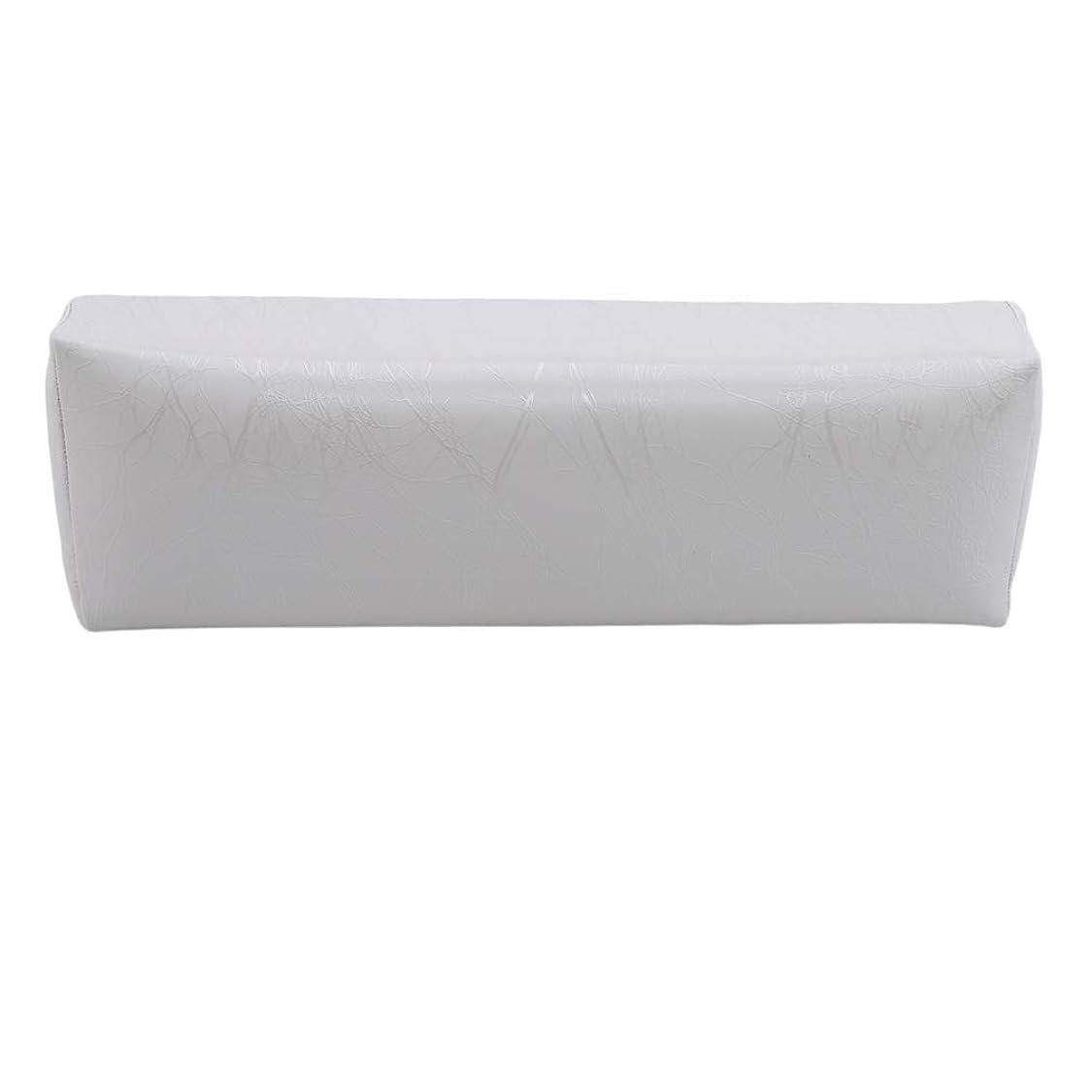 エミュレートする干ばつロープHKUN プロのネイルアートツール ケアツール 洗える 手枕クッション ネイルアートホルダー ソフトアームレスト用 ネイルケア用 マニキュアネイル用品 白色