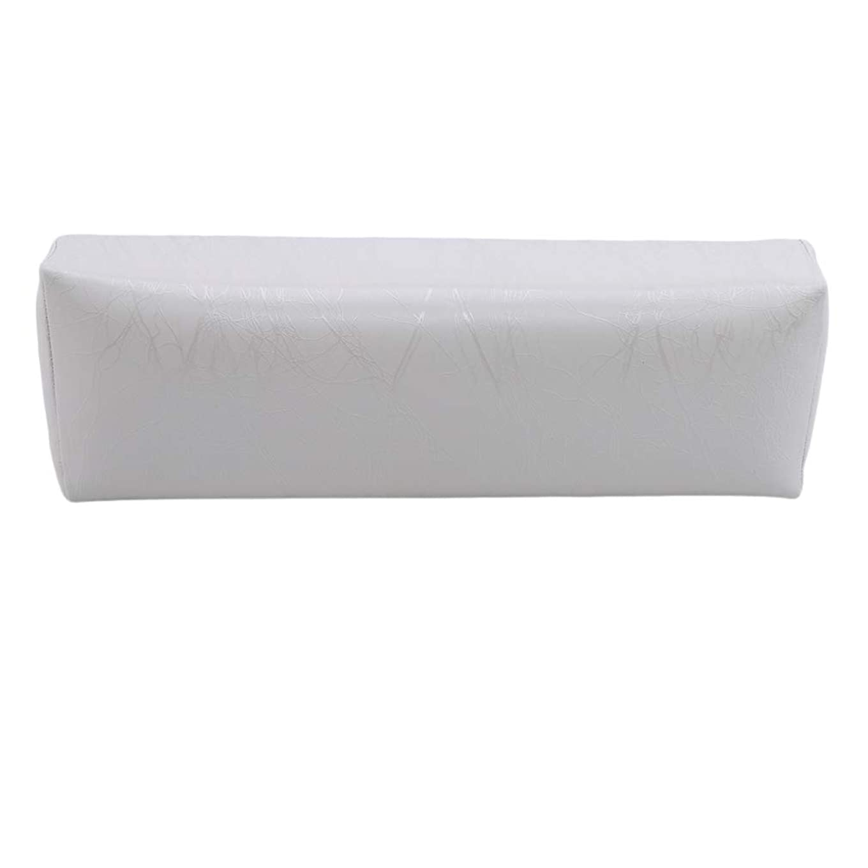 偶然成功ヒゲHKUN プロのネイルアートツール ケアツール 洗える 手枕クッション ネイルアートホルダー ソフトアームレスト用 ネイルケア用 マニキュアネイル用品 白色