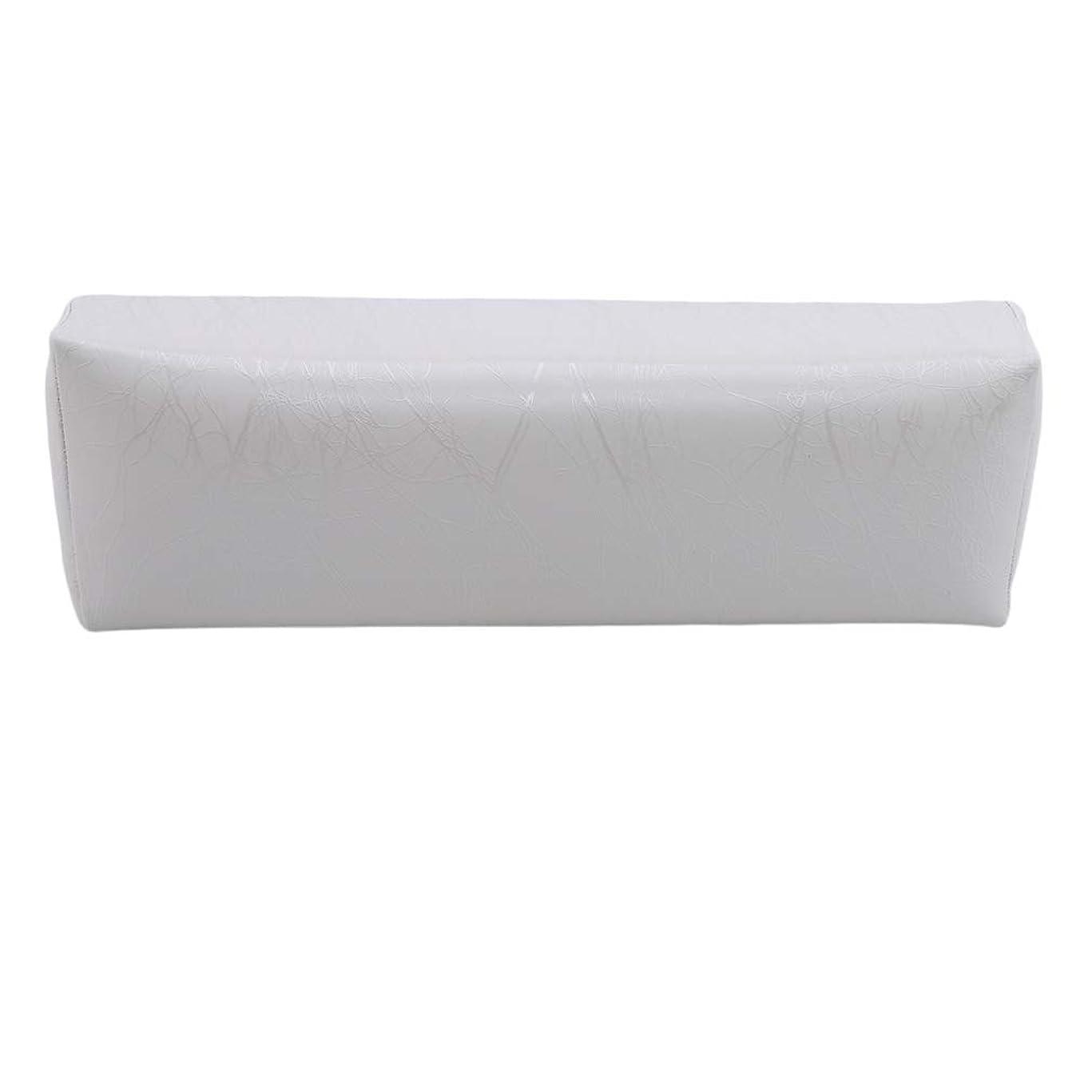 言うまでもなくピボット危機HKUN プロのネイルアートツール ケアツール 洗える 手枕クッション ネイルアートホルダー ソフトアームレスト用 ネイルケア用 マニキュアネイル用品 白色