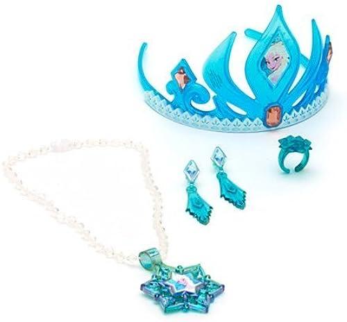 Disney Frozen Elsa Tiara and Jewelry Set by Disney