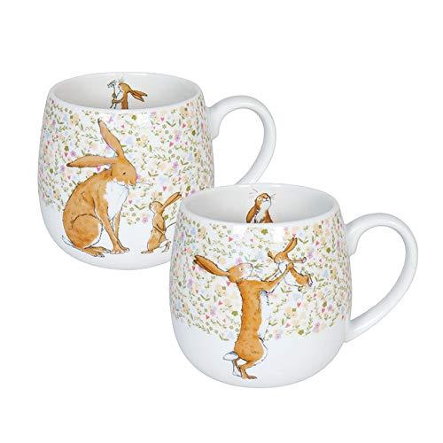 Könitz Porzellan Kaffee Becher Set Weißt du eigentlich 2er Set Kuschelbecher 420 ml schöne Kindertassen