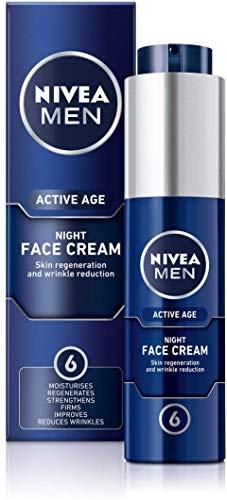 Nivea men active age night, crema de noche regeneradora - 50