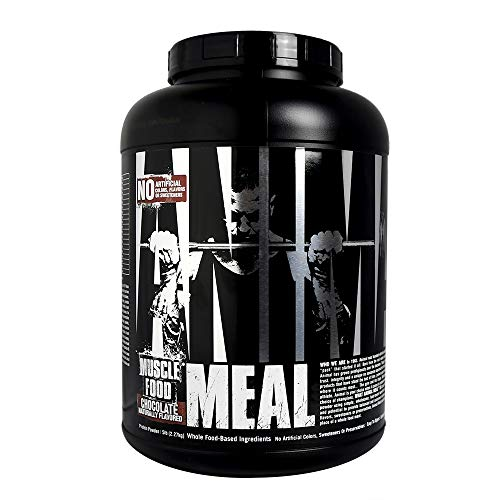 Universal Nutrition Animal Meal - All Natural High Calorie Meal Shake - Egg Whites, Beef Protein, Pea Protein, Chocolate