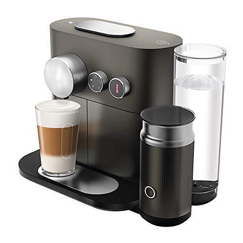 Buy Smart Home Fully Automatic Capsule Coffee Machine With Milk Frothing Machine, Black