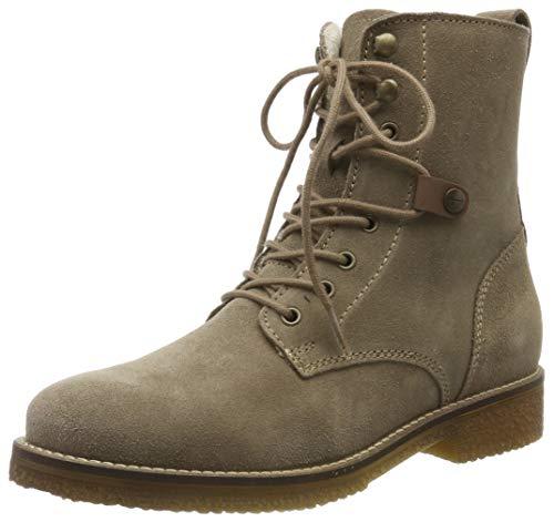 Tamaris Damen 1-1-25249-23 Combat Boots, Braun (Taupe 341), 40 EU