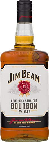 Jim Beam Kentucky Straight Bourbon Whiskey - 1.75 L