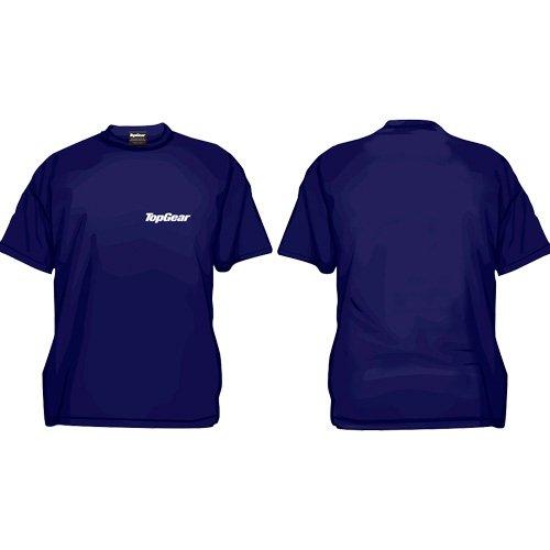 Top Gear Official Merchandise T-shirt classique Top Gear bleu bleu marine xl