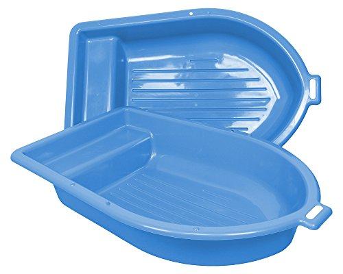 Ondis24 Sandkasten mit Deckel Kinderplanschbecken Boot Planschbecken Kinderpool