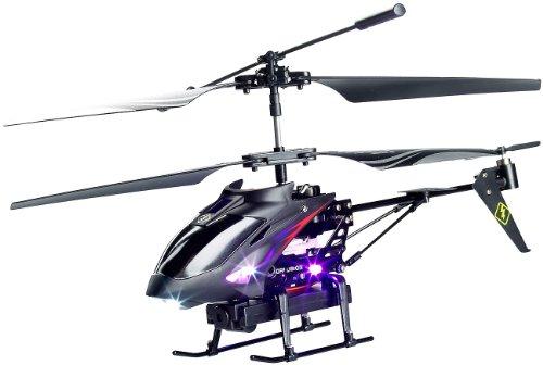 Simulus Modellbau-Drohne: 3,5-Kanal-Hubschrauber mit Kamera & Gyrostabilisator GH-300.S (Funk-Modell-Heli-Drohne mit Kamera)