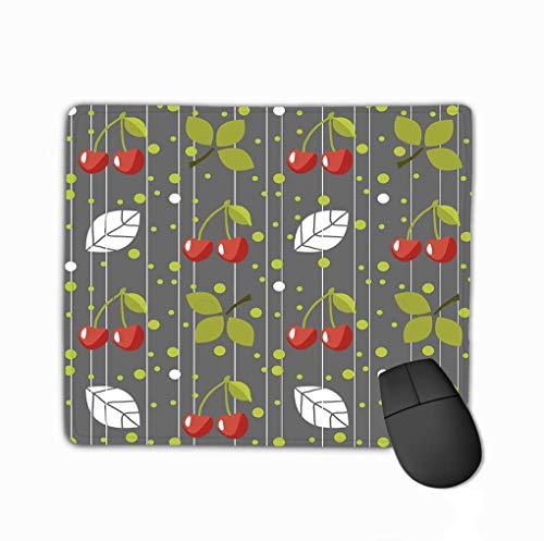 Niet-slip Dikke Rubber Grote Mousepad Kersen Grijs Achtergrond kan worden gebruikt Behang Patroon Vult Web Pagina Achtergrond Modern