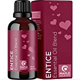 Enticing Romantic Essential Oil Blend - Aromatic Lavender Essential Oil Blend with Ylang Ylang Essential Oil - Aphrodisiac Essential Oil for Diffuser Sensual Massage Oil and Romantic Couples Gift