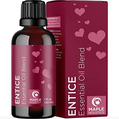 Enticing Romantic Essential Oil Blend - Aromatic Lavender...