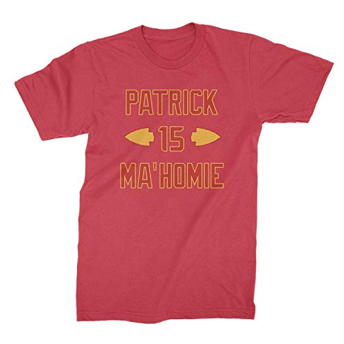 Patrick is Mahomie Shirt Kansas City Football Shirt Mahomes T Shirt Red