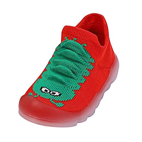 Dtuta Kinderschuhe Jungen Caterpillar Niedlichen Babyschuhe Schuhe Socken Farbabstimmung Bequeme Atmungsaktive rutschfeste Leichte Bequeme Nicht MüDe FüßE