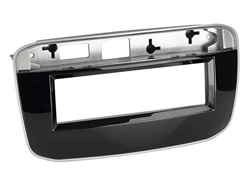 ACV 1-DIN Radioblende klavierlack schwarz