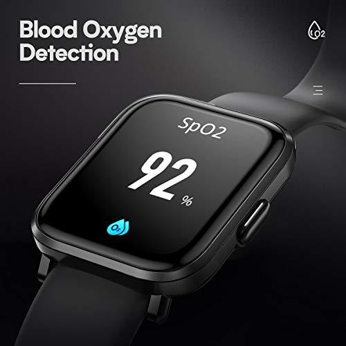 HolyHigh Smartwatch Fitness Tracker con Touchscreen a Colori Orologio Fitness con Monitor di Battito Cardiaco /& Sonno Cronometro Contapassi Impermeabilit/à IP68 Autonomia di 10 Giorni per Uomo Donna