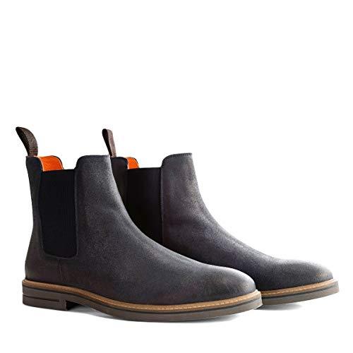 Travelin' Newburgh Chelsea Boots für Herren - Leder - Blau EU 43