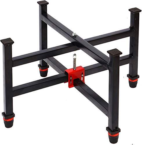 KORNERS Adjustable Four Fold Floor Carrom Stand