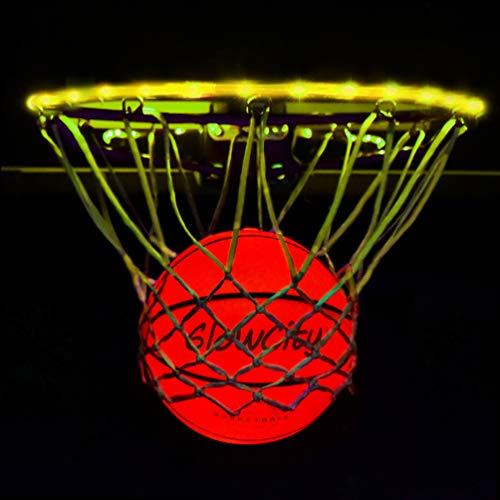 Light Up LED Rim Kit with LED Basketball