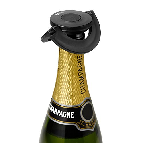 Adhoc Champagner-Stöpsel GUSTO, Schwarz