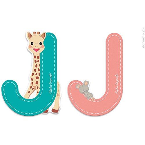Lettre J Sophie la girafe - Janod