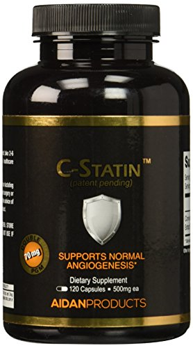 Aidan Products C-statin Support for Normal Angiogenesis, 120 Count