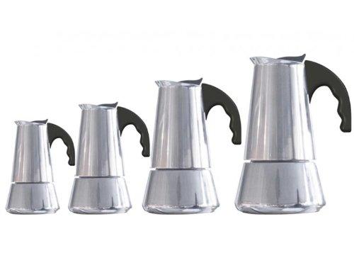 FOREVER KG121304'Miss Conny' Espressokocher, für Induktionsherd geeignet, 6Tassen