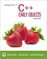 Starting Out with C++: Early Objects, 10th Edition Front Cover
