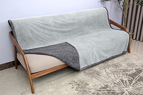 Waterproof Blanket, Liquid Pee Proof Blanket for Bed Couch Sofa,...