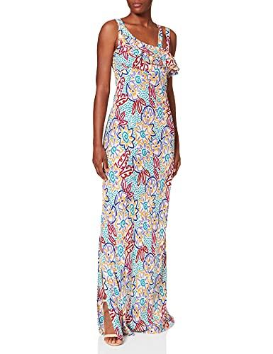 Intropia P632VEX06224799 Vestido, Multicolor (Multicolor 799), 36 (Tamaño del Fabricante:36) para Mujer