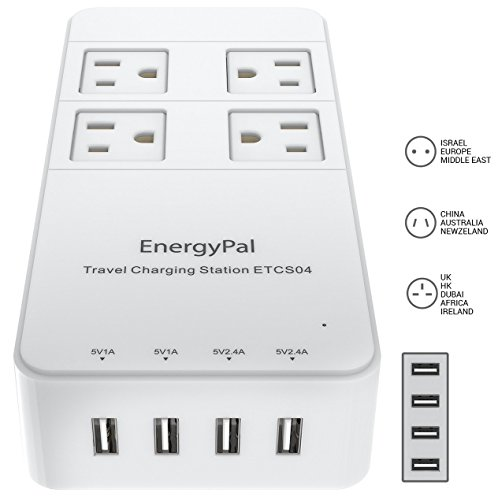 EnergyPal Travel Charging Station ETCS04 (White)