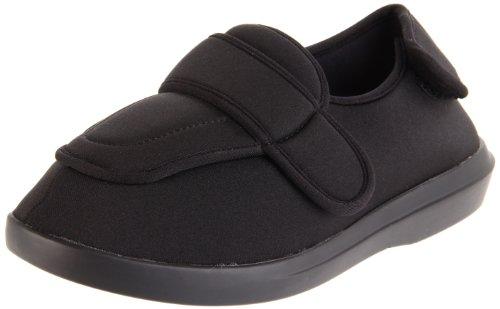 Propet Women's W0095SA Cronus Comfort Sneaker,Black,7 W US