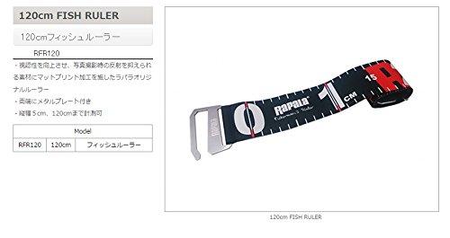 ラパラ 10cm フィッシュルーラー RFR10