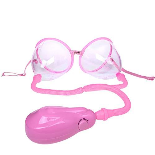 LXJ Milchpumpe Avent,Brust-Anreger Enhancer Spielzeug, Brustpumpe Doppelcupholder Instrument Luftdruck Brustmassage (Pink)