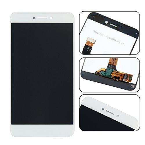 Ocolor di Riparazione e Sostituzione per Huawei P8 Lite 2017 LCD Display + Touch Screen Digitizer con Utensili Inclusi (Bianca)