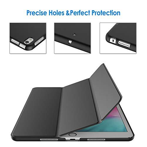 JETech Hülle Kompatibel mit iPad Air 3 (3. Generation 2019), Schutzhülle mit Ständer Funktion und Auto Schlafen/Wachen, Schwarz