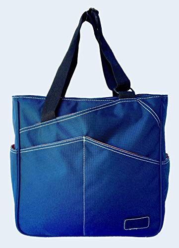 Maggie Mather Mini Tote Pickleball & Paddle Tennis (Navy)