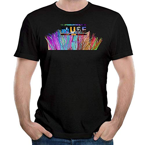 FlandFT - Muse The 2nd Law Camiseta de Algodón para Hombre