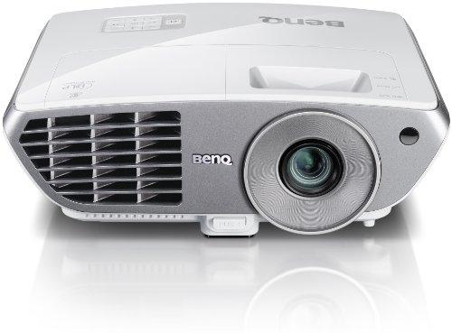 BenQ W1060 DLP-Projektor (1920 x 1080 Pixel, 2000 ANSI Lumen, 2x HDMI) weiß