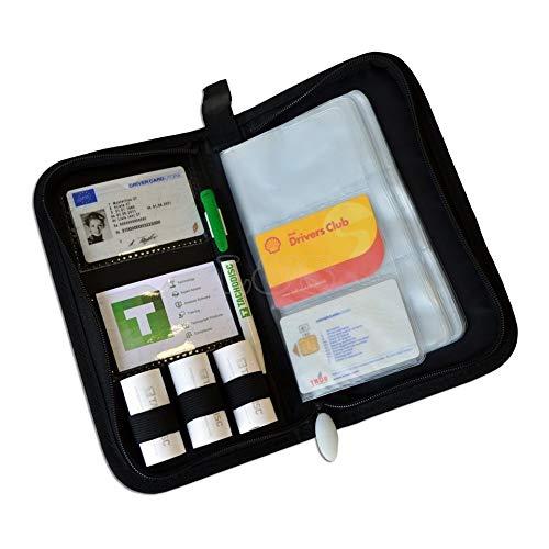 Drivers Digital Tachograph Organiser Wallet - TDOW