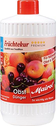 Mairol Früchte-Dünger Obst-Dünger Früchtekur Liquid 1.000 ml