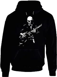 Joe Satriani Guitar Legend Rock and roll Music Guitar Hero Hoodie.