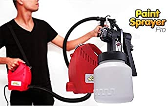 Trady Electric Portable Spray Painting Machine For Home Office Garage work Place Total Painter Fast Spray Gun Wall & Oil P...