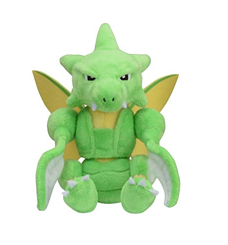Pokemon Center Original Pokemon Fit Scyther Insécateur Sichlor Plush Peluche Plüschtier