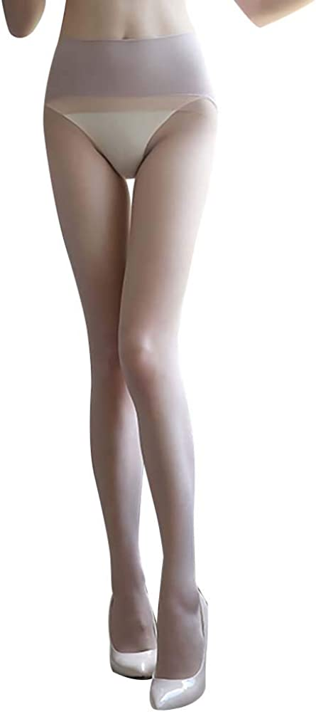 Women's Sexy Seamless Ultra Sheer Pantyhose Thin Transparent Full Length Footed Stretch Nylon Tights Stockings Luxury Hosiery