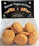 GALLETAS VEGANAS DE COCO - 200g (2 paquetes de 200g)