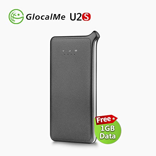 GlocalMe U2S 4G LTE High Speed Network Mobile Hotspot, Worldwide WiFi...