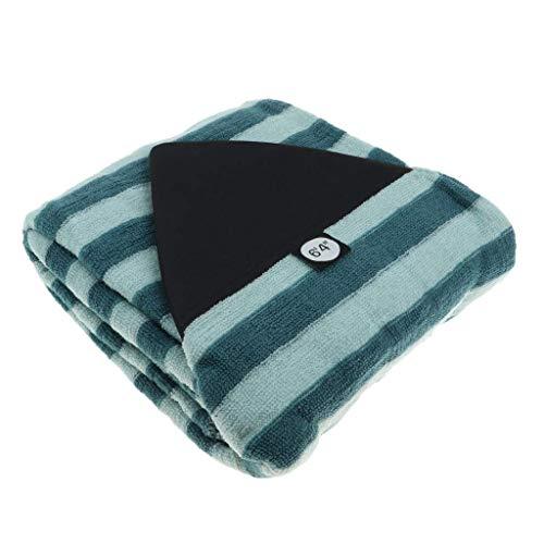 Inzopo - Funda para tabla de surf, ligera, de 5 a 10 pies, para tabla de surf, cómoda de secado rápido con cierre de cordón y protector de nariz acolchado y bolsa oculta de 14 pies