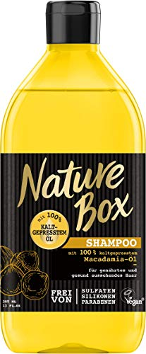 Nature Box Shampoo Macadamia-Öl, 3er Pack (3 x 385 ml)